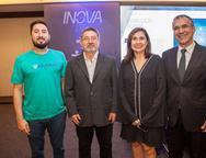 Pietro Occiuzzy, Claudio Ricardo, Neila Fontenele e Eduardo Neves