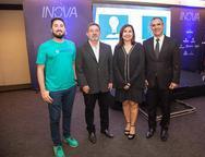 Pietro Cciuzzy, Claudio Ricardo, Neila Fontenele e Eduardo Neves