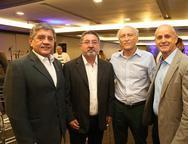 Sampaio Filho, Claudio Ricardo, Ricardo Liebman e Francisco Moreto