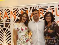 Celeste Rubinho, Rafael Rubinho e Maria Luiza Feitoza