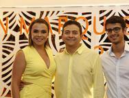 Vitoria Costa, Nicodemos Maia e Daniel Maia