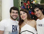 Fatima Gonçalves , Lucas e Caio Cruz
