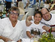 Santileuza, João Guilherme e Cesar