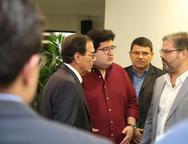 Beto Studart, Yuri Torquato e Edson Queiroz Neto