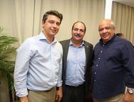 Andre Siqueira, Paulo Andre Holanda e Pedro Alfredo