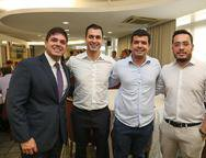 Guilherme Porto, Gabriel, Edson Cavalcante e Caio Honorato