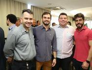 Pedro Felipe, Renan Sampaio, Davi Aguiar e Pedro Rocha