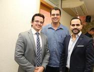 Rafael Albuquerque, Pedro Junior e Erick Guanabara