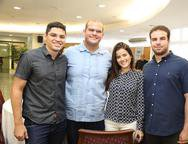 Thiago Guimaraes, Bruno Berquimas, Ingrind Colyer e Paulo Salim