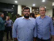 Tadeu Leandro e Lino Crisostomo