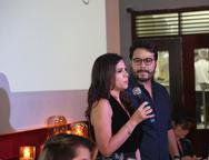 Maria Lucia Carapeba e Vinicius Machado