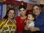 Elusa Laprovitera, Flávia, Henrique e Totonho