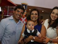 Gerinha, Marcia, Guilherme e Lara Laprovitera