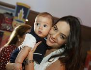 Guilherme e Lara Laprovitera