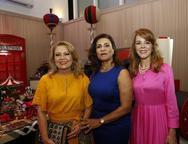 Inês Cals, Marcia Teixeira e Karizia Ponte