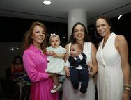 Karizia Pontes, Olivia, Larah  , Guilherme e Nathalia Pontes