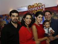 Pedro Garcia, Carla, Flávia, Henrique e Daniel Simões