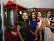 Silvia Campos, Marcia Teixeira e Lara