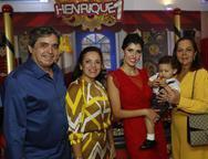 Totonho, Elusa Laprovitera, Flávia, Henrique e Fernanda Laprovitera