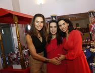 Alices Diniz,  Eveline Mota e  Carla Laprovitera