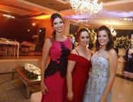 Consuelo Nobrega, Aline de Castro e Barbara Aguiar