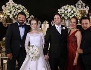 Dudu Ferreira, Larissa e Glauton Ximenes  Adriana e Roberto Alves