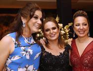 Debora Gomes, Smenia Gurgel e Adriana Ximenes