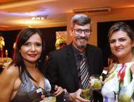 Luciano Melo, Georgia Melo e Ilana Queiroz