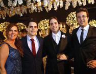 Michelle Ximenes, Helio Meirelles, Glauton e Antonio Neves