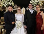 Roberto Alves, Larissa, Glauton Ximenes e Adriana Ximenes