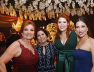 Ana Valle , Marah Ximenes, Mariana Ximenes e Tatiana Bandeira