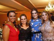 Simone Ximenes, Smenia Gurgel, Debora Gomes e Morgana Linhares