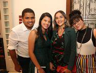 Demontie da Costa, Fernanda Caren, Clesivania Pinho e Flavia Samires