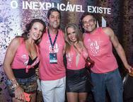 Gabriela Monteiro, Paulo e Liege Goes e Rodrigo Saraiva