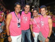 Paulo Goes, Lucas Cardoso, ACM Neto e Duquinho Magalhaes