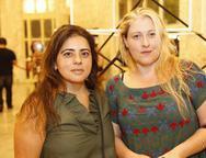 Jeanne Gonçalves e Cristiane Bloise