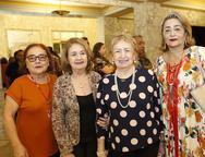 Miloca Aguiar, Antonia Costa, Leticia Fialho e Marcia Loreto