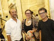 Pedro Domingues, Isabel e Mario Sanderis