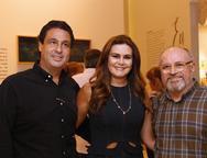 Alexandre Rangel, Ivana Bezerra e Vando Figueredo