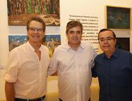 Cesar Fiuza, Totonho e Alessandro Belchior