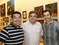 Danilo Carvalho, Totonho Laprovitera  e Jo Lima