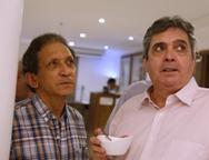 Djalma Pinto e Totonho Laprovitera