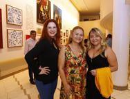 Enir Camara, Regina Vasconcelos e Anita Erick