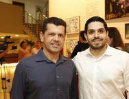 Erick Vasconselos e Fernando Laprovitera