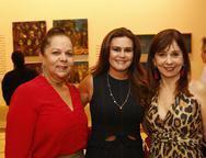 Fernanda Laprovitera, Ivana Bezerra e Fernanda Cermem Ines