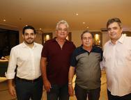 Fernando Laprovitera, Marcinho Fiuza, Tob¡as Navarro e Totonho Laprovitera