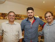 Henrrique Pinto, Rodrigo Rodrigues e Eduardo Queiroz