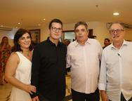 Luana, Eduardo Gadelha, Totonho e Eduardo Rossi