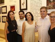 Natercia Saboia, Fernando Laprovitera, Elusa Laprovitera, Totonho e Caterina Saboia