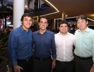 Aloisio Neto, Aloisio Ramalho, Marcelo Tavares e Edgar Gadelha